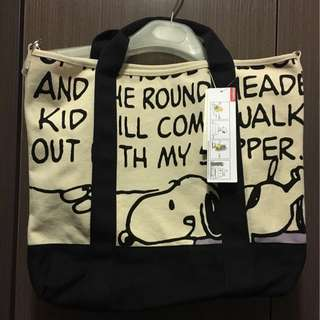 Snoopy Two Way Bag