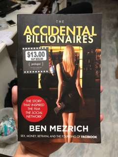 The Accidental Billionaires by Ben Mezrich Storybook Novel