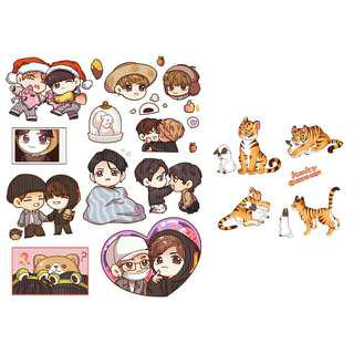 [SHARE] KOOKV Stickers Ver 2