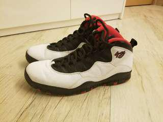 Nike Air Jordan X 10 Double Nickel US12