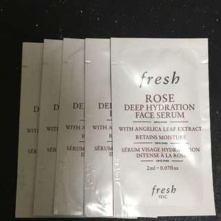 *包郵*Fresh serum sample 5pcs