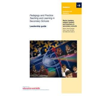 Pedagogy and Practice: Teaching and Learning in Secondary Schools (579 Page Mega eBook)