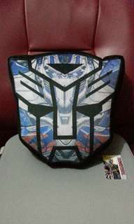 Brand New Hasbro Transformers The Last Knight Face Plush Cushion Pillow
