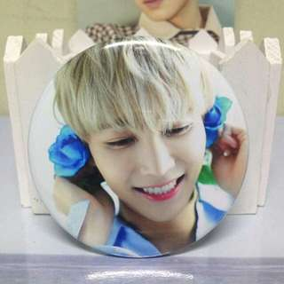 [READY STOCK] JEONGHAN TEEN AGE WHITE VER BADGE