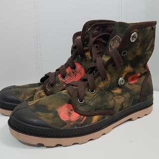 Authentic Palladium Floral Boots 7.5