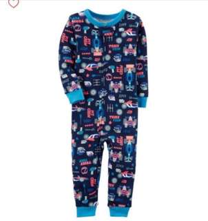 🚚 *18M* Brand New Carter's Snug Fit Cotton Footless PJs For Baby Boy