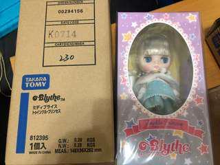 全新日版middle Blythe twinkle princess