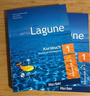 German language Lagune 1 level A1 textbook