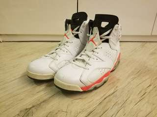 Nike Air Jordan VI 6 - US12 Slam dunk 櫻木花道 男兒當入樽