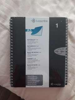 Livescribe notebooks