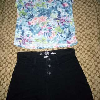 Take SO Top and SO Shorts for Woman(Size Small)