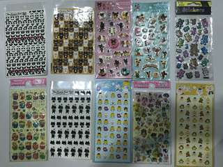 Stickers assorted