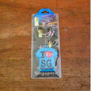 Gantungan Kunci / Keychain Singapore / Singapura