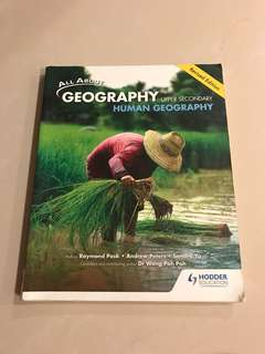All about geography Human Geography Textbook (revised edition)
