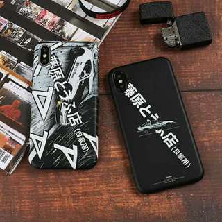 Initial D Phone Case For iPhone 7/8/X