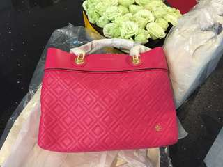 Tory Burch small Fleming tote