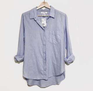 H&M linen material shirt