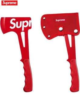 《 Supreme SS18 Week 18 》 Supreme 斧頭 SOG Hand Axe