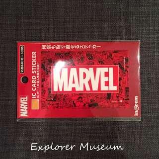 Marvel 日本IC卡貼紙(包郵)
