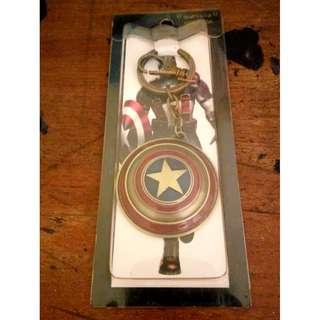 Gantungan Kunci / Key Chain Avanger Captain America Shield