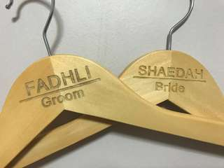 🔥🔥Cust's Customized Wedding Hanger