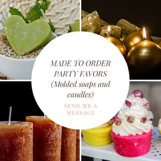 Made to order party favors or giveaways
