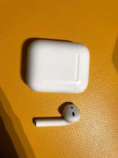原裝Apple airpods 右邊 only right side