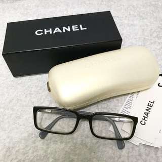 Chanel 眼鏡(連鏡片300-400度)