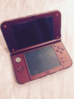 (REPRICED) RED New Nintendo 3DS XL
