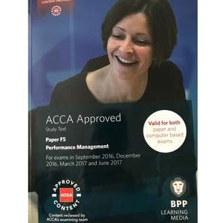 ACCA Paper 5 Performance Management