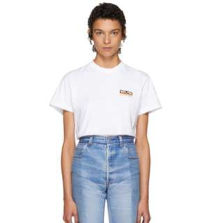 Vetements White '100% Pro' Standard T-shirt