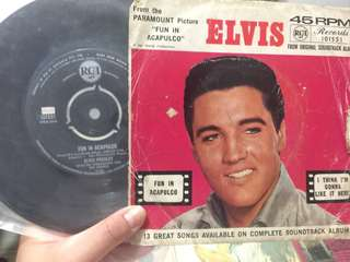 Elvis Presley's Vinyl Record (fun in Acapulco)