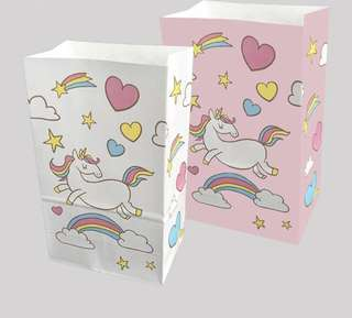 Cutesy Unicorn gift bags - Perfect for Parties Favors