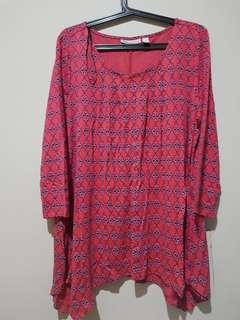Plus Size - Dana Buchmsn Blouse