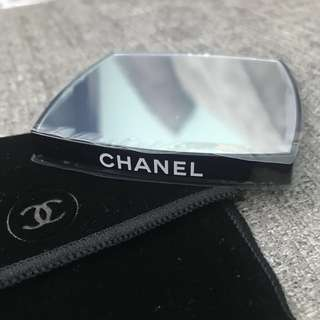 全新 Chanel 雙面鏡子 double sided Mirror 一面放大 一面普通 Travel Size