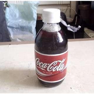 美國紙標10 FL OZ可口可樂玻璃細樽一枝