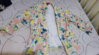 PLAINS & PRINTS Large colorful Blazer