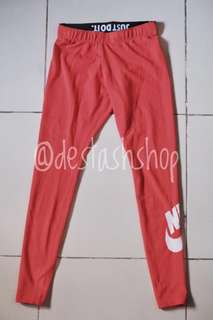 BRAND NEW! Nike Coral Pink Leggings