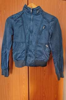 Ladies' Bomber Jacket in teal