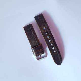 Genuine Leather Strap Hand Made Used Good condition
