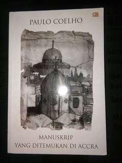 Novel Paulo Coelho - Manuskrip yang ditemukan di Accra (Bahasa Version) #kanopixcarousell