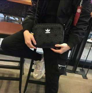 🎉Adidas X Issey Miyake mini airliner sling bag (promo $)