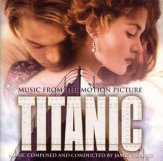 arthcd TITANIC Soundtrack CD (CELINE DION My Heart Will Go On)