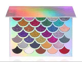 Cleof Glitter Unicorn Eyeshadow Palette