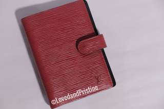 Louis Vuitton Epi Leather PM Agenda