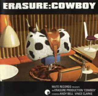 arthcd ERASURE Cowboy CD (Don't Say Your Love Is Killing Me, Rain etc)