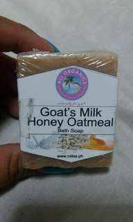 Milea's Goat's Milk Soap and Itcho's Body Oil