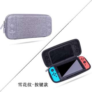 Nintendo Switch Case Bag Protective Grey Special Pouch