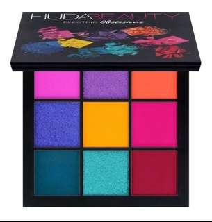 Huda Beauty Electric Obsession Eyeshadow Palette
