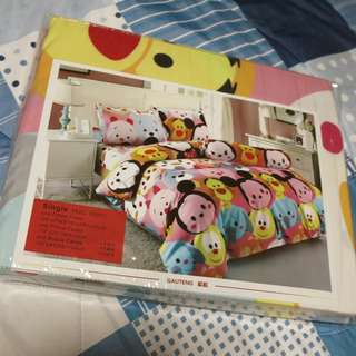Brand New Bed Sheet (Single Bed) - Colourful Animated Cartoon Characters